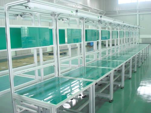 铝型材工作台案例