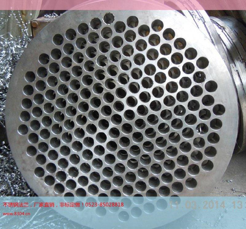 304不锈钢管板